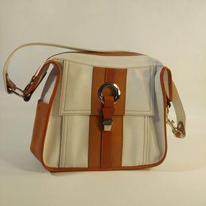 Hogan Vintage Leather Handbag • Handmade in Italy